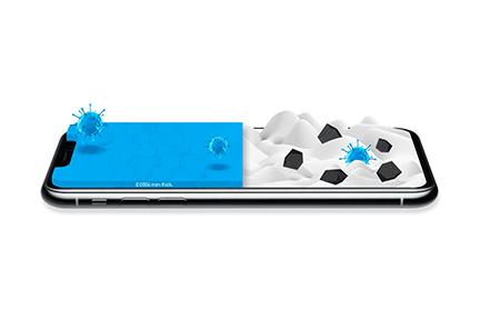 نانوپوشش محافظ برای حفاظت تلفنهای همراه از گزند ویروس و باکتری