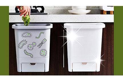 سطل زباله آنتیباکتریال نانو، برای محیطی پاکیزهتر